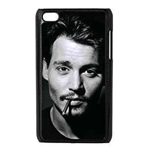 Personalized Cover Case YU-TH49761 for Ipod Touch 4 w/ Johnny Depp by Yu-TiHu(R)