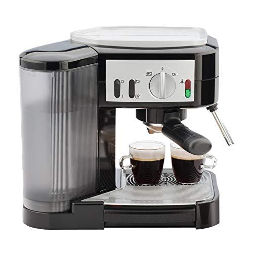 Capresso 1050-Watt Pump Espresso and Cappuccino Machine, Black/Silver (Renewed)