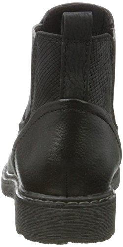 Marco comb Chelsea Bottes Black Fille Ant Tozzi Noir 46410 4qrP4