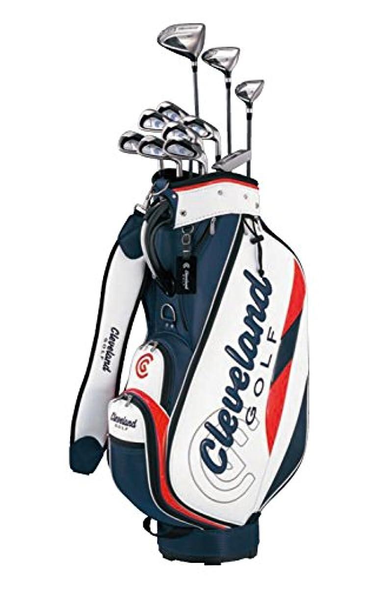 [해외] CLEVELAND GOLF(클리브랜드 골프) 클럽 세트 클리브랜드 패키지 세트 (11개 세트・캐디화이트 첨부) 아이언:카본 샤프트 카본 맨즈 오른쪽 플렉스:R