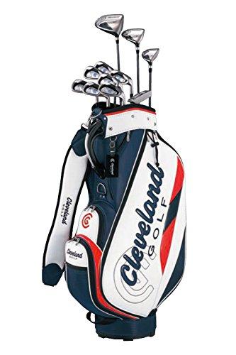 クリーブランドゴルフ(Cleveland GOLF) クラブセット クリーブランド パッケージセット (クラブ11本セットキャディバッグ付) アイアン:スチールシャフト スチール メンズ 右 フレックス:S   B07B9WW3HC