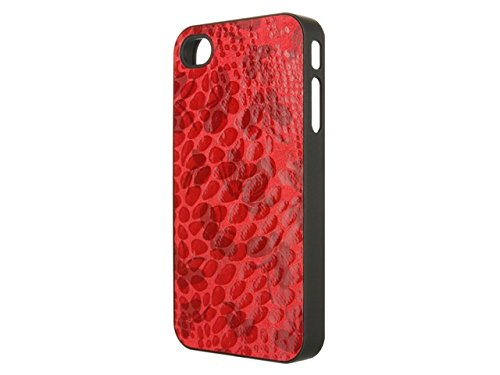 Telileo 0582 Back Case - Apple iPhone 4 - Butterflys Rot