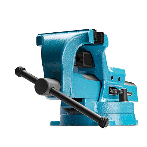 (Capri Tools 10515 Ultimate Grip Forged Steel Bench Vise, 4