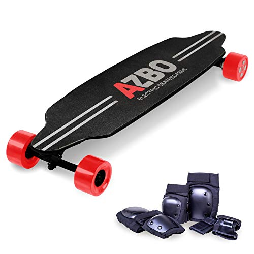 Electric Skateboard Longboard with Remote Control by AZBO |...