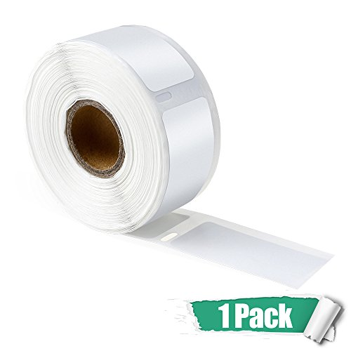 2 White Labels 1-1/8
