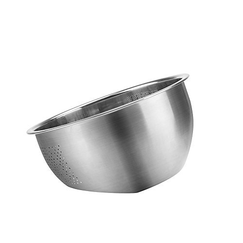 Large Bowl Stainless Steel Basin - 8