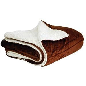 Elegant Comfort Luxury Sherpa Blanket on Amazon! Best Seller Micro-Sherpa Ultra Plush Blanket , All Sizes, Twin , Full, Queen, King , California King