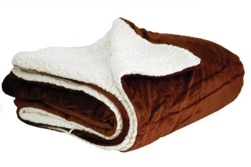 Elegant Comfort Luxury Sherpa Blanket on Amazon! Best Seller Micro-Sherpa Ultra Plush Blanket , All Sizes, Twin , Full, Queen, King , California King