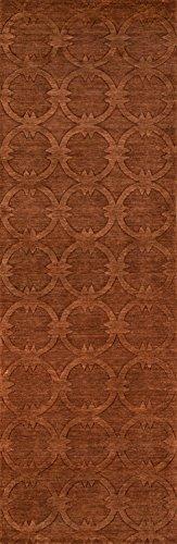 Nolita Rugs Concord Wool Copper Runner 2'6