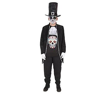 LLOPIS - Disfraz Adulto Dia de los Muertos: Amazon.es: Juguetes y ...