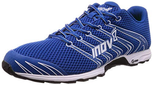 Inov-8 Unisex F-Lite 230 | Original Cross Training Fitness Shoe | Perfect for Crossfit Workouts and Running | Blue/White 10.5 M UK