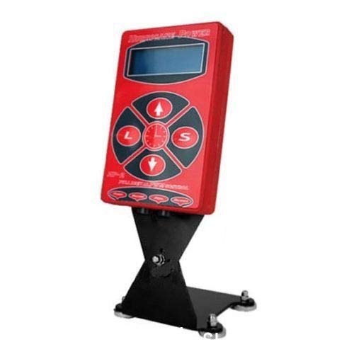 (Tattoo Power Supply, 110V Professional Intelligent Digital LCD HP-2 Hurricane Tattoo Power Supply Adapter Tattoo Power Supply Machine Kit (USA Stock))