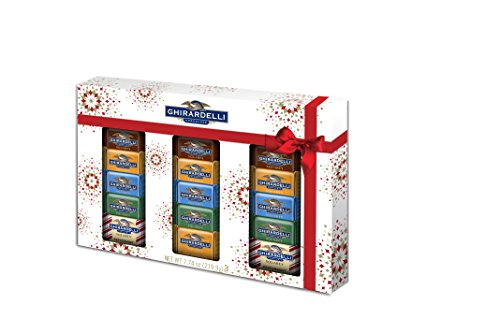 Ghirardelli Ultimate Chocolate Collection Window Box, 7.74 Ounce (Squares Ghirardelli Carmel)