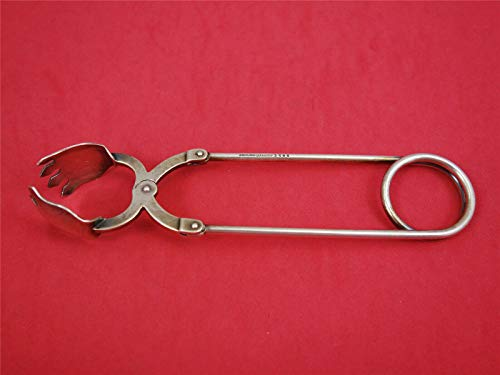Number 1585 by Reed and Barton Sterling Silver Ice Tong Mechanical 6 1/2