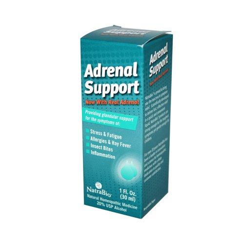 Gros NatraBio Adrenal Support - 1 fl oz, [Santé & Beauté, les remèdes homéopathiques]