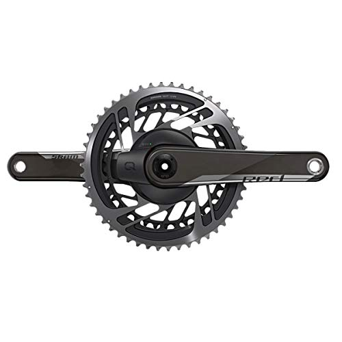 Sram Red AXS Dub 12-Speed Power Meter Crankset Natural Carbon, 172.5mm, 48/35t