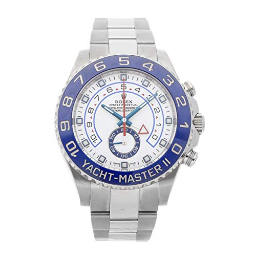 Rolex Yacht-Master II Mechanical (Automatic) White Dial Mens Watch 116680 (Certified -