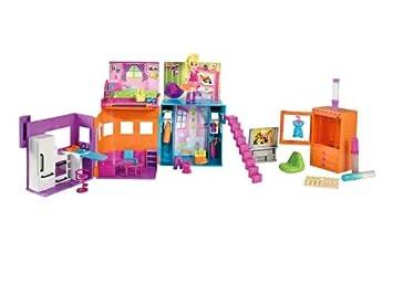 esPolly Pocket W8151 Mattel Y Amazon Juegos CasaJuguetes lFKJT1c3