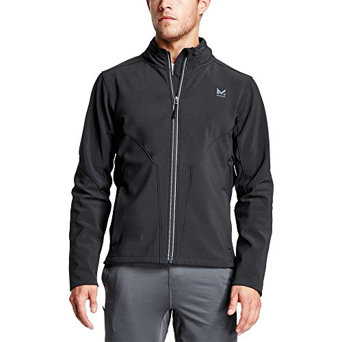 Mission Men's VaporActive Catalyst Jacket, Moonless Night, Large