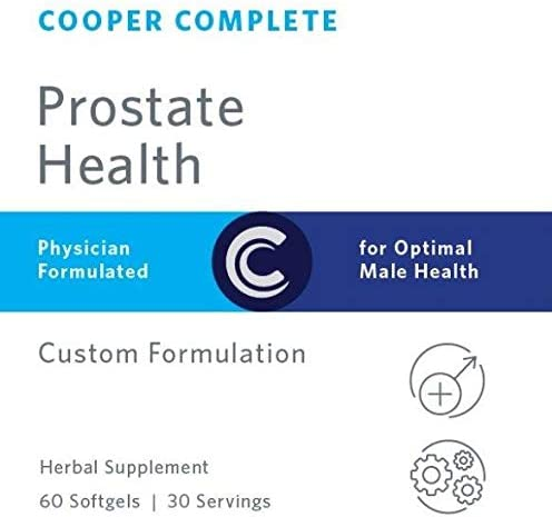 Cooper Complete – Prostate Health Supplement – Saw Palmetto, Lycopene, Pygeum Extract – 30 Day Supply