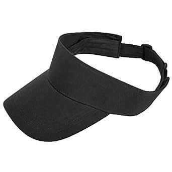 TARTINY Unisex Sun Visor Hats Lightweight & Comfortable- Stylish & Elegant Design For Everyone(Black)