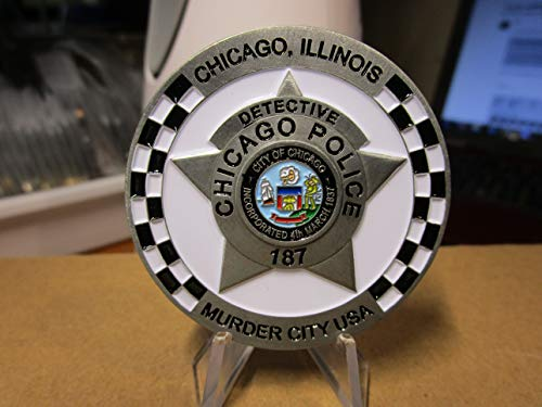 (Chicago Police Detective Murder City USA CPD Challenge Coin)