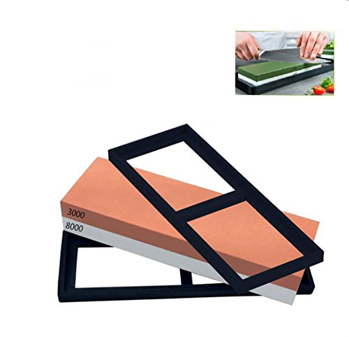 Baixi Grindstones Professional Corundum Sharpening Stone 100  Double Sided Knife Sharpening Stone 3000 8000 Whetstone Knife Sharpener