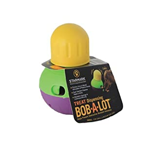 Starmark Bob-a-Lot Interactive Dog Toy 12