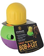 StarMark Bob-A-Lot Interactive Dog Toy, Small