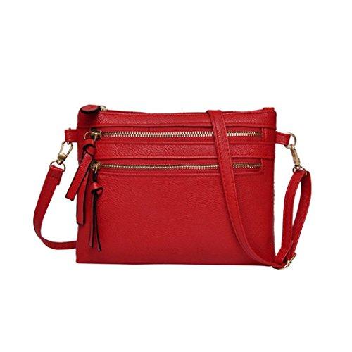 Similpelle Rucksackhandtaschen Donna 4854010001 Rossa Uface 4qF6wan