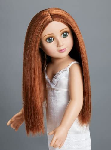 """B003QK71AS Erin 18"""" Slim Doll with Red Hair and Green Eyes in Gift Box 41sua28UQ8L."""