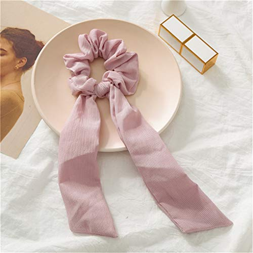 Scrunchie Hair Accessories Elastic Hair Bands Hair Ties For Women Scrunchie Scarf Bow Knot Scrunchie - Ball Knot Tie