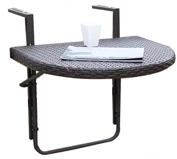 Klapptisch balkongeländer  Amazon.de: Balkon-Hängetisch, klappbarer Tisch für's ...