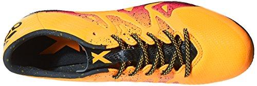 adidas X 15.3 Ag, Botas de Fútbol para Hombre, Multicolor Naranja / Negro / Rosa (Dorsol / Negbas / Rosimp)