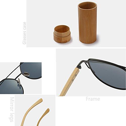 Sol Bambú De Gato Gafas Gray Película Black Gafas De Gafas Bambú Metal De De Alta De Ojo De Gafas De Sol De De La Gama De Color Femeninos Modelos Sol qtzwIBz
