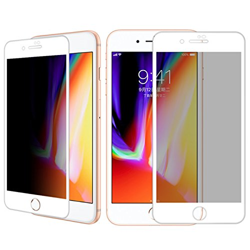Yutang Explosion Proof Full Cover Film Privacy Anti-Spy Screen Protector(for iPhone 8/8Plus) by Yutang (Image #6)