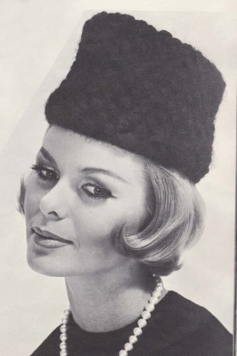 Knit Tam Patterns (Knit Cossack Hat Knitting Pattern Cap Tam)