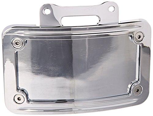 Kuryakyn 9157 Curved License Plate Lens (License Frame Curved Plate Kuryakyn)