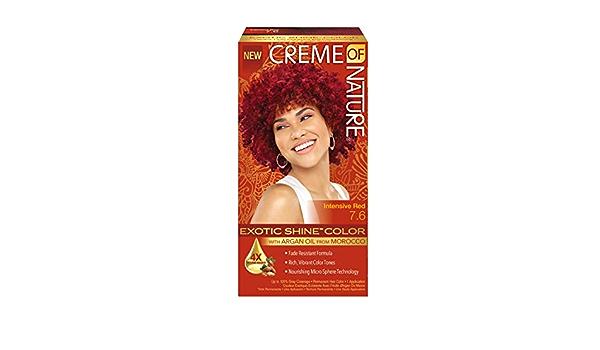 Creme Of Nature, Coloración permanente (Rojo Intense) - 60 gr.