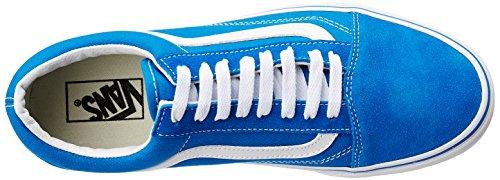 de Vans Hombre Azul Cuero Zapatillas OUqwX5