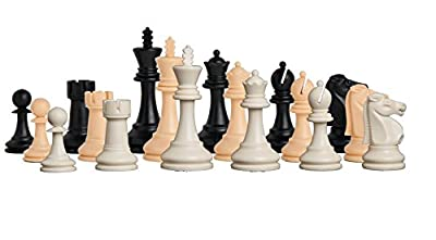 "The Reykjavik Plastic Chess Set - Pieces Only - 3.75"" King - by The House of Staunton"
