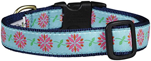 Up Country Dahlia Darling Dog Collar - Medium