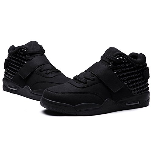 Hoop Basketball Look Air Sport Mens Shoes Flat and Black Seoky Athletic Shoes Sneakers Fashion Sport Athletic qgBzPXt