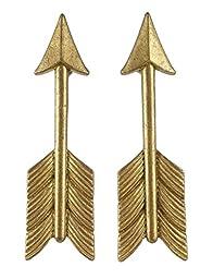 Pewter Arrow Drawer Handles - Set of 2