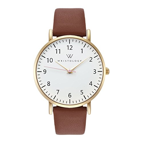 White Face Leather Strap - 9