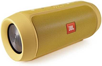 JBL Charge 2+ Splashproof Portable Bluetooth Speaker (Yellow)