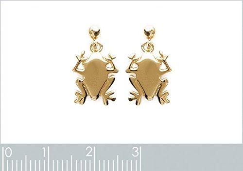 ISADY - NiStella Gold - Boucles d'oreille - Plaqué or jaune 18K - Pendants