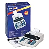 Victor 2640-2 Two-Color Printing Calculator, Black/Red Print, 4.6 Lines/Sec