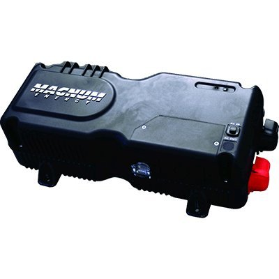 Status Indicator - Magnum Energy MM1512AE MM-Series 1500W 12VDC Modified Sine Inverter Charger, Power Factor Corrected (PFC) Charger, Transfer relay capability, Internal cooling, On/Off with status indicator