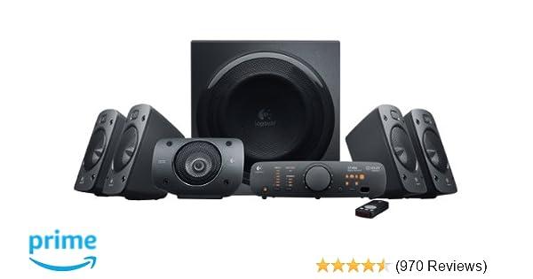 Amazon logitech z906 51 surround sound speaker system thx amazon logitech z906 51 surround sound speaker system thx dolby digital and dts digital certified electronics publicscrutiny Choice Image